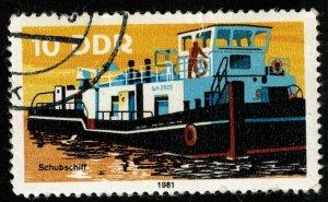 1981, DDR, Ship, 10Pfg. (RТ-636)