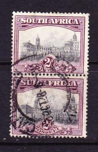 SOUTH AFRICA 1927 2d  PICTORIAL PAIR FU SG34