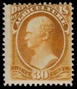 U.S. OFFICIALS O9  Mint (ID # 39400)