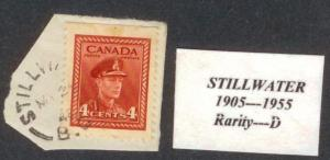 CANADA  BRITISH COLUMBIA  CANCEL   STILLWATER    RF D