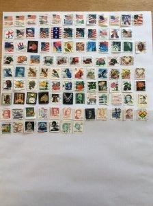USA 100 stamps - Lot I