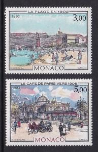 Monaco  #1385-1386     MNH  1983  Clerissi paintings