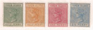 British Virgin Islands Stamps Scott #12 to 15, Mint With Variable Gum - Free ...