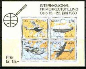 Norway 1979 \'Norwex 80\' Int Stamp Exhibition (Arctic Av...