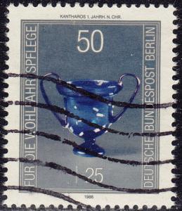 Germany Berlin - 1986 - Scott #9NB238 - used - Glassware