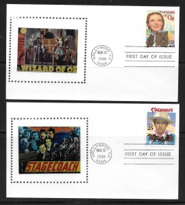 USA 2445-8 Classic Films First Day Cover FDC (z9)