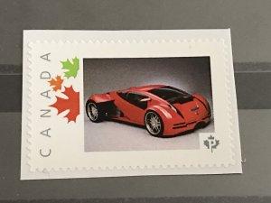 Canada Post Picture Postage * Rare Sports Car * *P* denomination