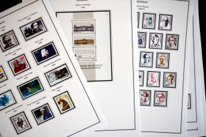 COLOR PRINTED GERMANY 1949-2010 STAMP ALBUM PAGES (299 illustrated pages)
