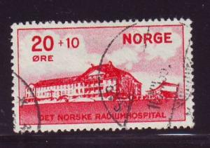Norway Sc B4 1931 Radium Hospital stamp used