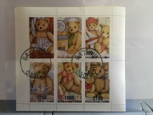 Batum  Teddy Bear  stamp sheet R24484
