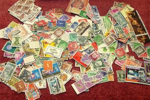 Lot of 2000-- Two Thousand Plus---World Stamps-----True Un-Searched Lot!!!!!!