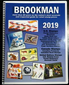 BROOKMAN 2019 CATALOG OF US STAMPS