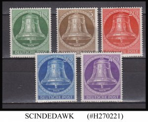 GERMANY BERLIN - 1953 SCOTT#9N94-9N98 - 5V - MINT NH