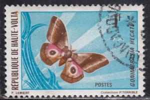 Burkina Faso 244 Gonimbrasia Hecate 1971