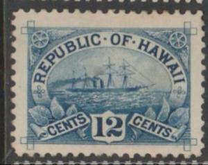 U.S. Scott #78 Hawaii - Cat $17.50 - Possession Stamp - Mint Single