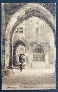 1925 Jerusalem Palestine RPPC Postcard Cover To Berlin Germany
