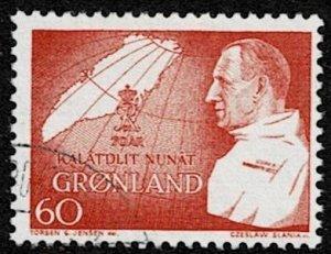 1969 Greenland Scott Catalog Number 70 Used
