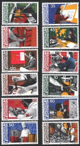 Liechtenstein. 1984. 849-60. Professions, Medicine. MVLH.
