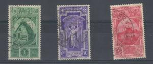Italy 1932 50c/80c SG11/12 VFU J4083