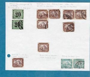 EGYPT EARLY STAMPS MM, MNH AND USED   REF 5219