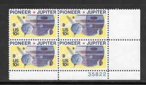 #1556 MNH Plate Block
