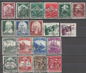 COLLECTION LOT # 4955 GERMANY 19 STAMPS 1935+ CV+$23