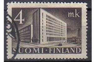 FINLAND, 1939, used 4m, Definitive Series Main Post office cat. 226 Issued 1 ...