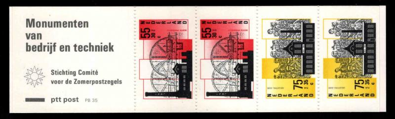 Netherlands Scott B628a MNH**  1987 Indurstry Booklet