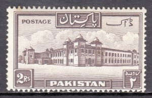 Pakistan - Scott #39a - MNH - Toning spot UL, minor perf toning - SCV $30