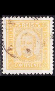 PORTUGAL [1892] MiNr 0066 yA ( O/used )