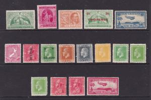New Zealand a small lot of mint KGV