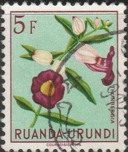Ruanda-Urundi, #128 Used From 1953
