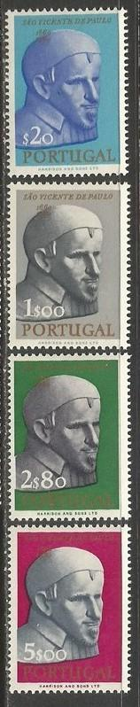 PORTUGAL 909-12 MNH RELIGION Z076