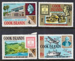 Cook Islands 195-198 MNH VF