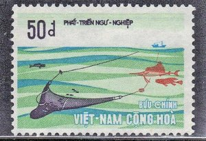 VIETNAM SC# 410 *USED*  40pi 1972   SEE SCAN