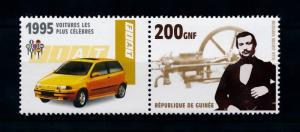 [76902] Guinea 2002 Inventor Engine Nikolaus Otto Classic Car Fiat 1995  MNH