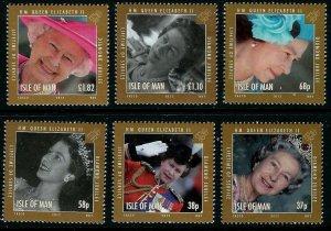 Isle of Man --2012-  QE II  DIAMOND JUBILEE   MNH  Set   # 1479-1484
