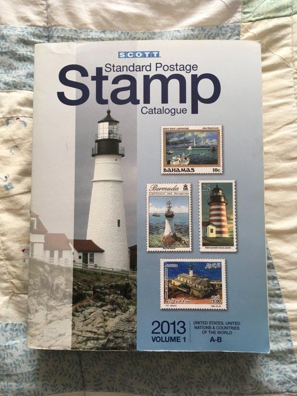 Scott 2013 Standard Postage Stamp Catalogue Vol 1 A - B Countries