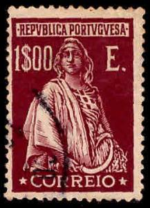 PORTUGAL Scott 414 Used Ceres stamp