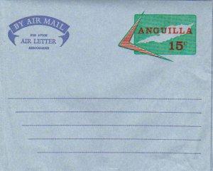 Anguilla Higgins & Gage FG4 Unused.