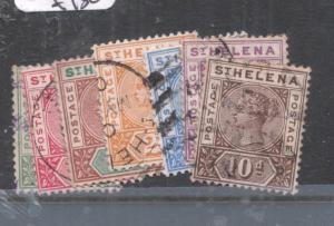 St Helena SG 56-52 VFU (5dmc)