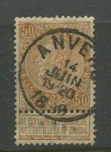 STAMP STATION PERTH Belgium #70 King Leopold 1893 FU CV$22.00