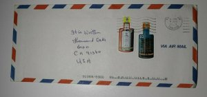 Trinidad & Tobago Novelty Bottle Shape Stamp Angnostura 2000 Sc# 598-599