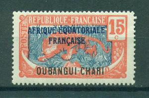 Ubangi-Shari sc# 48 mh cat value $1.00