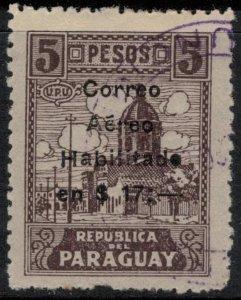 Paraguay #C6  CV $3.25