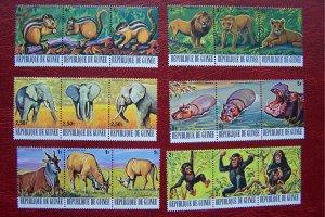 Guinea 1977 MNH Fauna African Animals