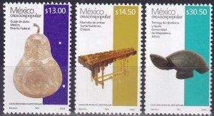 Mexico #2503, 2504, 2505  MNH  CV $11.25  Z1062