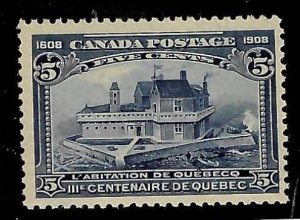 Canada #99 Mint NH - Choice With Certification