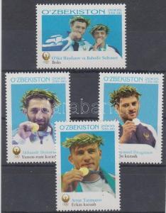 Uzbekistan stamp Athens Olympic medalist set MNH 2006 Mi 602-605 WS114639