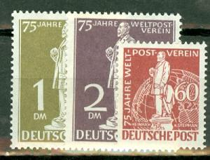 Germany 9N35-41 MNH CV $550 (full set; scan shows only some)